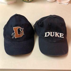 Durham Bulls Baseball Cap & Duke University Hat